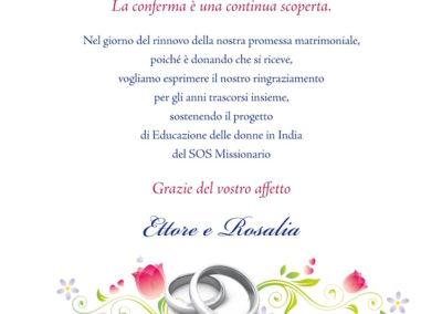 Anniversario Matrimonio