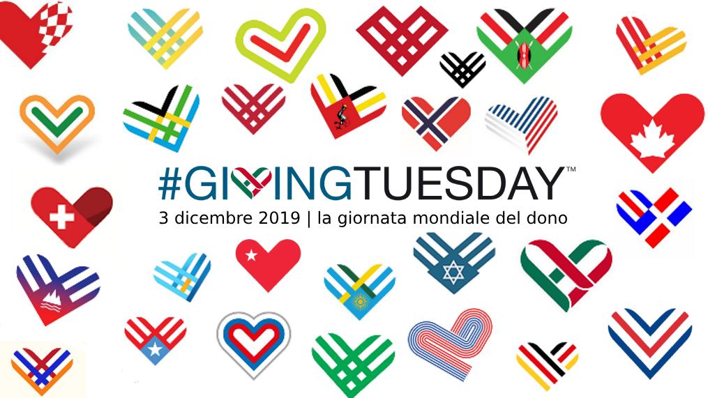 #GivingTuesday – Martedì del Dono – 3 dicembre 2019